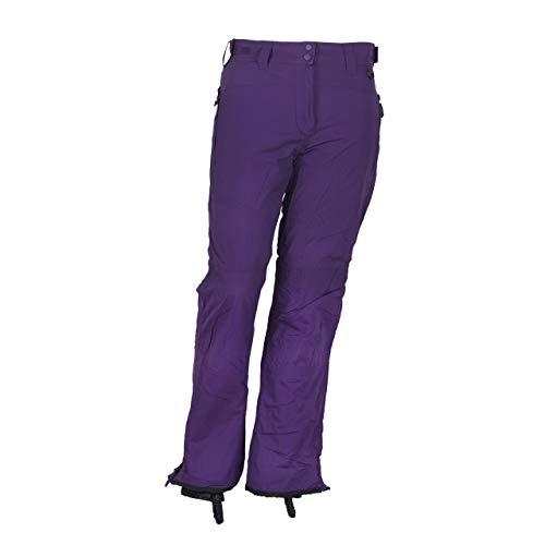CAGO Snowboardhose für Damen Größen, Damen Größe:36;Farbe:lila