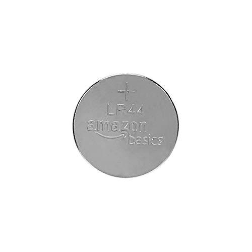 AmazonBasics LR44 Alkaline Button Coin Cell Batteries - 6 Pack