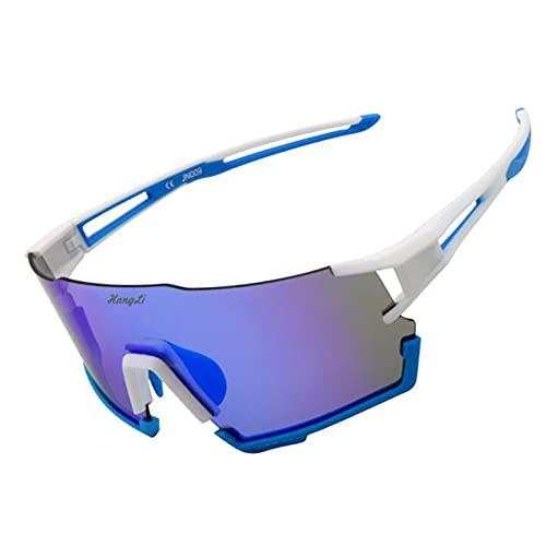 B-yun Gafas De Ciclismo Polarizadas, Gafas De Bicicletas Deportivas Al Aire Libre, Protección UV, Hombres Y Mujeres Gafas A Prueba De Viento(Color:A2)