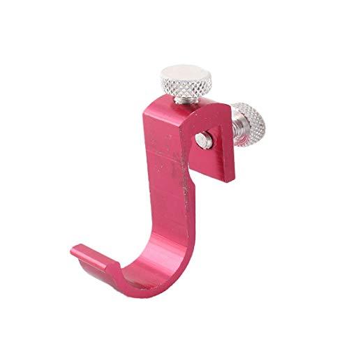 New Lon0167 Baño Cocina Destacados Metal solo gancho eficacia confiable abrigo bata puerta pared colgador rojo(id:d28 de e2 002)