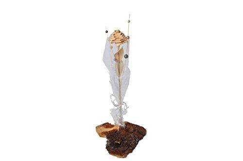 sagl.tirol holzmanufaktur Handgefertigte Rose aus Zirben Holz Geschenk für Muttertag/Verliebte oder einfach als schöne Dokoration