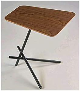 CAMINO A CASA - Tavolino con Vassoio in Legno e Noce