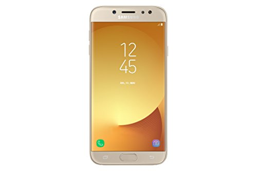 Samsung Galaxy J7 2017, Smartphone libre (5.5'', 3GB RAM, 16GB, 13MP/Versión europea), color Oro