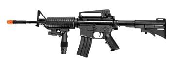 UK ARMS P1158CA Spring Airsoft Rifle M4A1 Carbine M4 AR15 AR-15 Assault Rifle