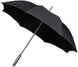 Falcone Automatische parasol golf zwart 120 cm