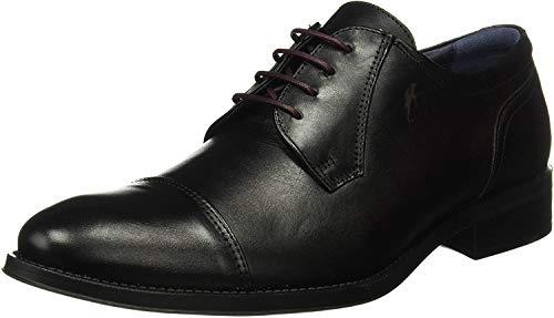 Fluchos Luca, Zapatos Cordones Derby Hombre, Negro