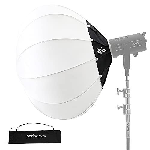 Godox CS-85D Softbox Lanterna Soft Light per Flash da studio e altre luci di montaggio Bowens (85 cm / 34 pollici)