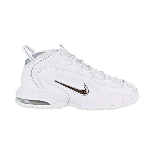 Nike Herren Air Max Penny Fitnessschuhe, Weiß (White/White/Metallic Silver 100), 47.5 EU