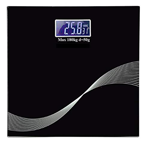 ADTALA Electronic Thick Tempered Glass & LCD Display Electronic Digital Personal Bathroom Health Body/Health & Personal Care/Home Medical Supplies & Equipment/Weight Scale For Human Body
