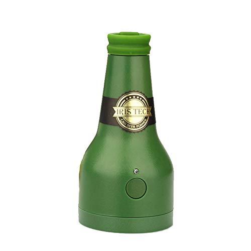Aomili Beer Foam Maker Bier Schäumer Bier Schaum Maker Elektrische Bier, Ultraschall-Bieraufschäumer Bieraufschäumer in Flaschenform für Getränke