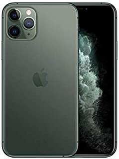 Apple iPhone 11 Pro with FaceTime - 256GB, 4GB RAM, 4G LTE, Midnight Green, Single SIM & E-SIM
