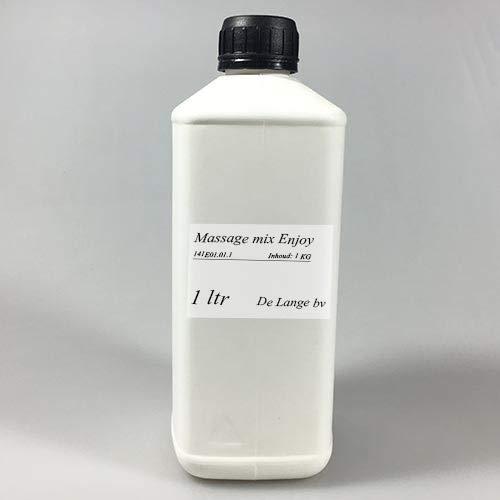 Massage Olie Mix Enjoy – Oliën & Oranjebloesem (1 liter)