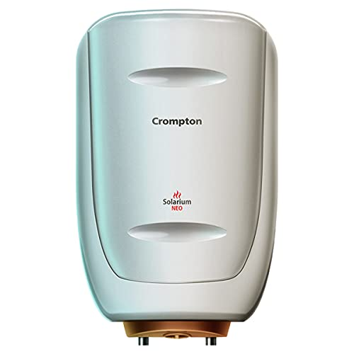 Crompton Solarium Neo 6-L 4 Star Rated Storage Water Heater with Advanced 3 Level Safety (Ivory)