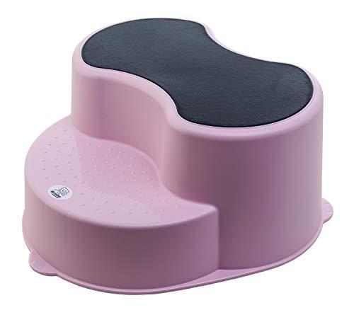 Rotho Babydesign TOP Tabouret Enfant, Surface Antidérapante, TOP, Tender Rosé Pearl (Rose), 200050208