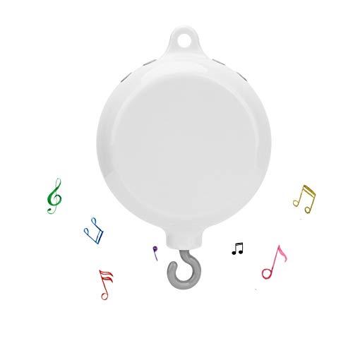 Baby Mobile Bett Glocke Säuglingsbett Bett Hängen Musikglocke Elektrische Spieluhr Bettdekoration Spielzeug Mit 12 Arten Süße Melodien
