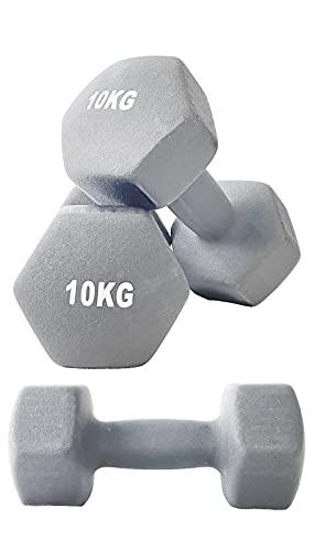 TOP FILM ダンベル 2個セット1kg 2kg 3kg 4kg 5kg 8kg 10kg ダンベルセット ソフトコーティング 筋力トレーニング 筋トレ 鉄アレイ (10)