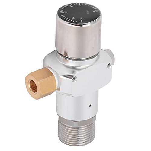 Regulador de nitrógeno del Cargador 0‑30PSI Mini nitrógeno de café de aleación de Aluminio con Bloqueo de Bola de Gas