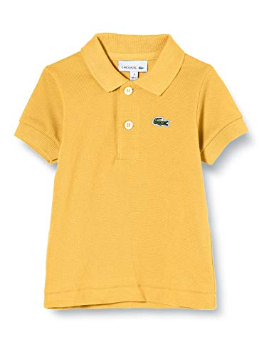 Lacoste Jungen Pj2909 Poloshirt, Gelb (Daba Z0a), 6 Jahre (Herstellergröße: 6A)