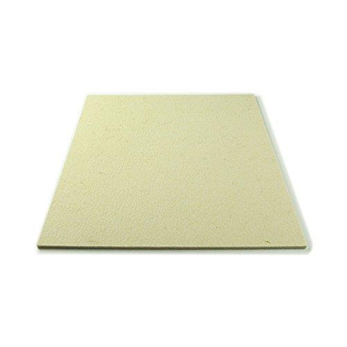 The Felt Store - Feltro (Industriale/di Lana) a Taglio, Media densità, 50 x 30 cm, 5 mm Spessore, Colore: Bianco