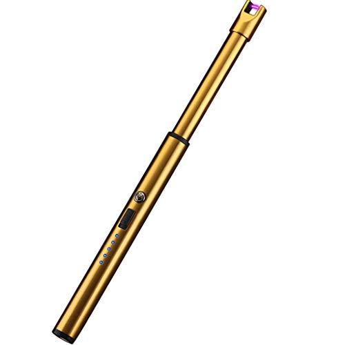 Sulifor USB wiederaufladbare Outdoor Flammenfeuerzeug Grill Camping Feuerzeug elektronisches Feuerzeug, Lichtbogen, Kerzenfeuerzeug, Feuerzeug (GD)