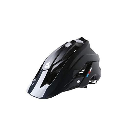 Mountain Bike Helmet Ultralight Regolabile Mtb Ciclismo Casco Della Bicicletta Calotta Del Casco Traspirante La Sicurezza Esterna Che Per Gli Sport Esterni Formato Libero 1pc Nero