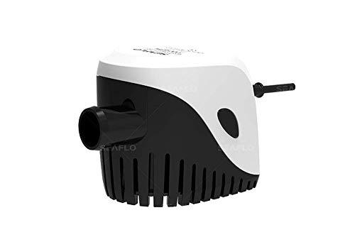 LIGHTEU®, 12V 750GPH Automatische lenswaterpomp, Volautomatische elektrische dompelpomp 3A met ingebouwd vlotterschakelsysteem, geen aparte vlotterschakelaar nodig