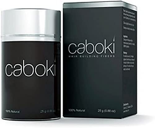 New Looks Caboki Hair building fiber is absolutely natural & unnoticeable Dark Brown 25gm