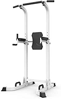 ZJETVO Multifunctional Exercise Equipment, Dip Stands Power Tower Workout Dip Station for Home Gym Strength Training Fitne...