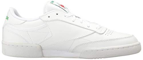 Reebok Club MEMT Tennis pour homme - Blanc - Blanc / vert, 39 EU EU