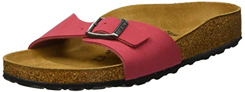 Birkenstock Madrid, Mules Femmes, Rouge (Crimson Red...