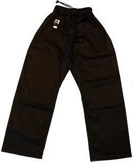 Playwell Karate Negro 100/% Pantalones Algod/ón