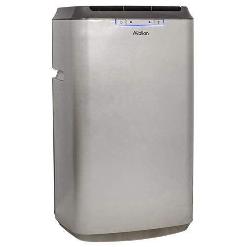 Avallon 12,000 BTU Dual Hose Portable Air Conditioner - No Draining Required