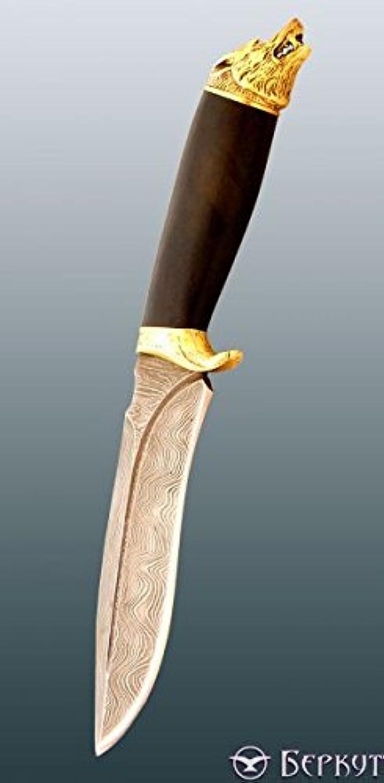 Kizlyar Damascus steel knife Borz