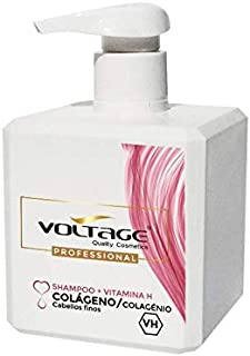 Voltage Shampoo Shampoo colágeno + vitamina H - 500 ml