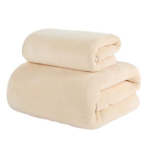DAXIONG Juegos De Toallas Toalla Toalla de baño de Dos Piezas de algodón Suave de Agua Absorción de Secado rápido Sin Pelusa Adulto del hogar, 9 Colores...