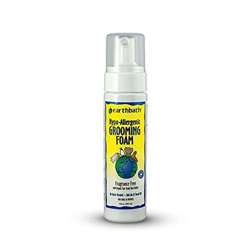 4. Earthbath Hypo-Allergenic Waterless Grooming Foam