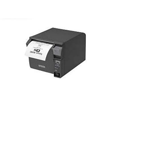 Epson TM-T70II (025 a0) Thermal POS Printer Black – POS/Mobile Printers (Thermal, POS printer, Wired & Wireless, USB type, Bluetooth, RS232, USB 2.0)