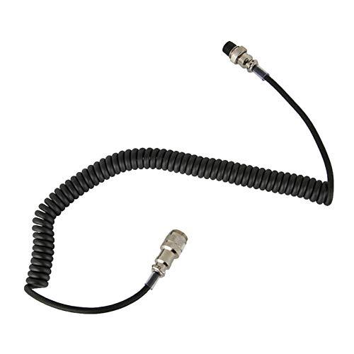 Cable de Micrófono de Altavoz,Cable de Extensión de Aviación Cable Hembra Macho...