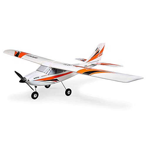 E-flite RC Airplane Apprentice STS 1.5m RTF, Ready-to-Fly (Transmitter, Receiver, Battery and Charger Included) Smart Trainer with Safe, EFL3700