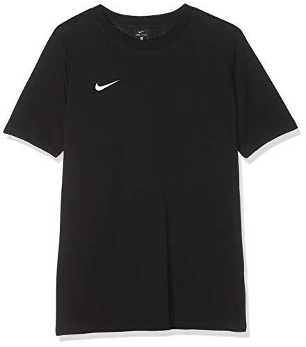 Nike Polo Tm Club19 Ss Team Club 19 Tee, T-Shirt Unisex Bambini, Nero (Black/Black/Black/White 010), M