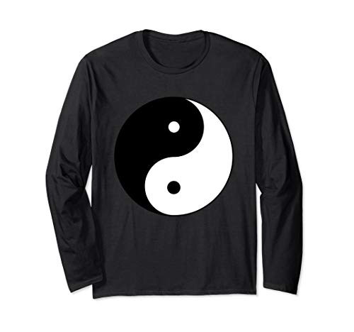 Sacred Geometry Yin Yang Long Sleeve Shirt