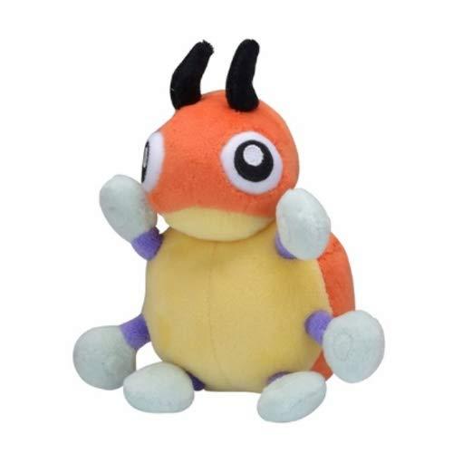 Spuik El compañero del niño calmante de juguete de felpa de Pokemon Ledyba muñeca de la felpa de dibujos animados animado Figurita relleno de la felpa Figura suave amortiguador de la almohadilla Peluc