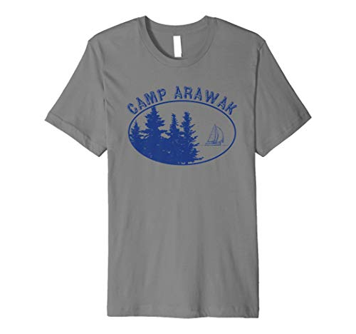 Camp Arawak Shirt Retro Summer Camp T-Shirt
