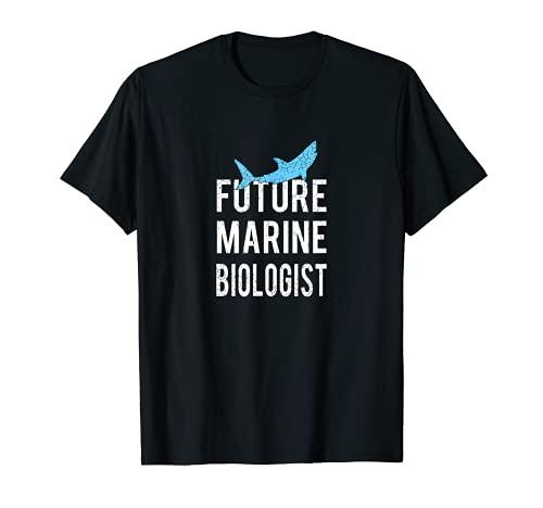 Disfraz lindo del bilogo marino del futuro para el nio adulto Camiseta