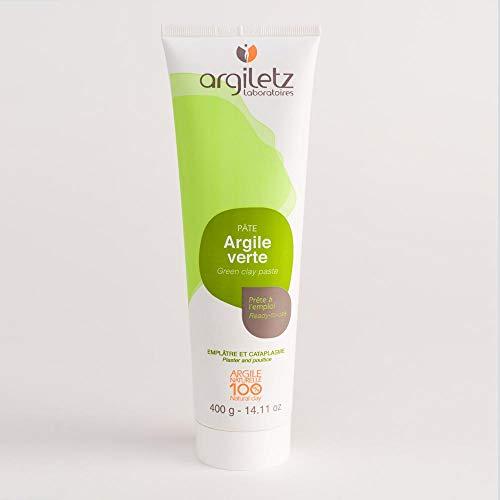 ARGILETZ Lot de 2 tubes de 400g d'argile verte prête à l'emploi distribué par ARCILIA