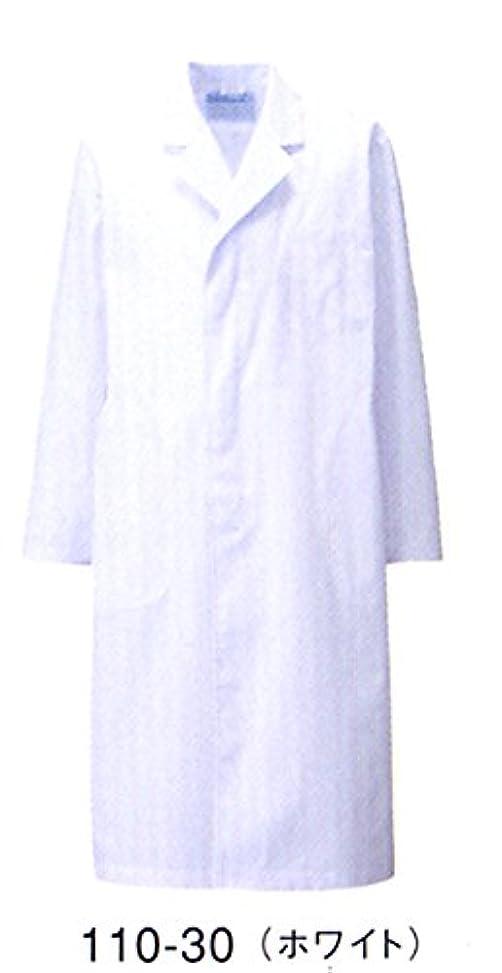 ピクニックをする留まる立方体カゼン 110-30 メンズ診察衣S型 長袖 (看護師 ドクター 介護)