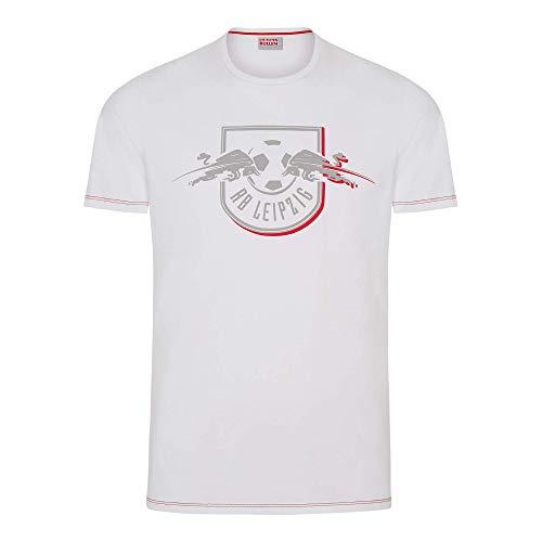 RB Leipzig Red Shadow T-Shirt, Weiß Herren XX-Large T-Shirt, RasenBallsport Leipzig Sponsored by Red Bull Original Bekleidung & Merchandise