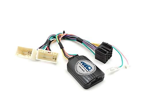 NIQ Lenkradfernbedienungsadapter geeignet für PIONEER Autoradios, kompatibel mit KIA Ceed / Optima / Picanto / Rio / Soul / Sportage