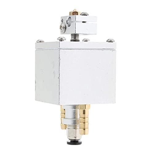 Accesorios de impresora Reemplazo 0.4mm Solo Extrusora V6 Kit de Cabeza Enfriada por Agua para Impresora 3D