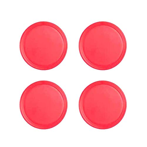 Read About TOYANDONA 4pcs Air Hockey Pucks Goal Packs Replacement for Game Tables Equipment Accessor...